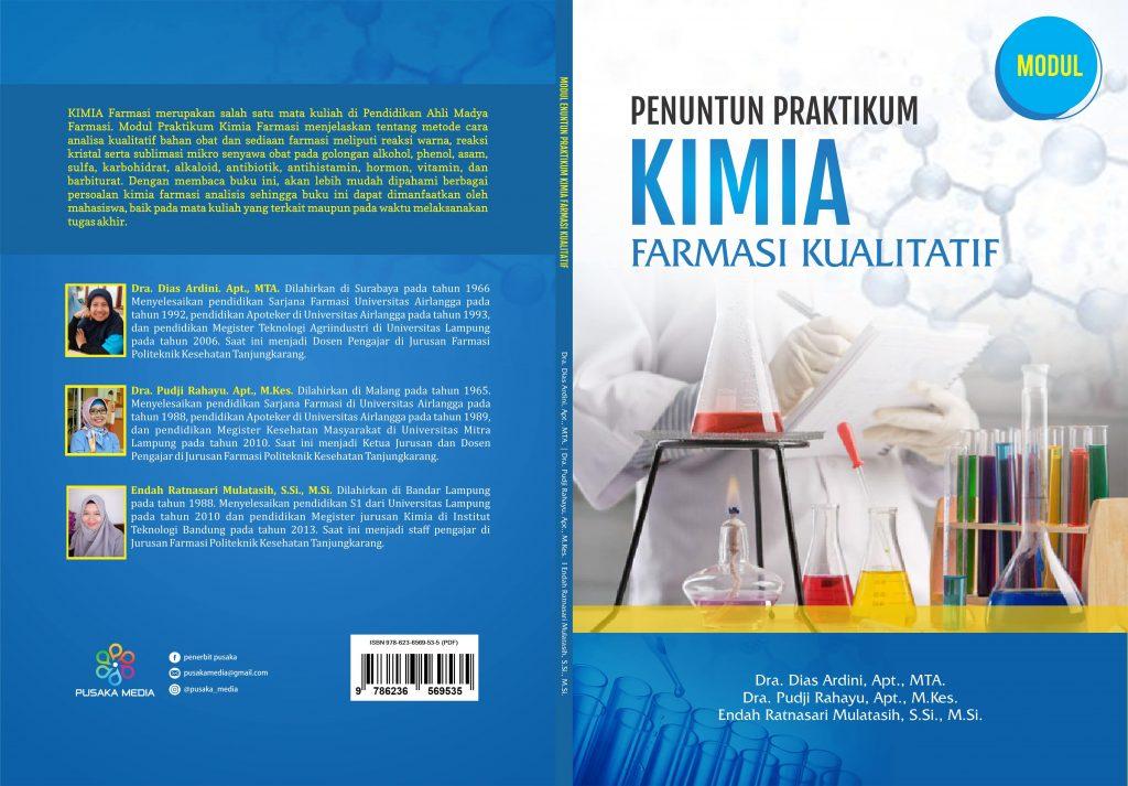 Cover Modul Penuntun Praktikum Kimia Farmasi Kualitatif