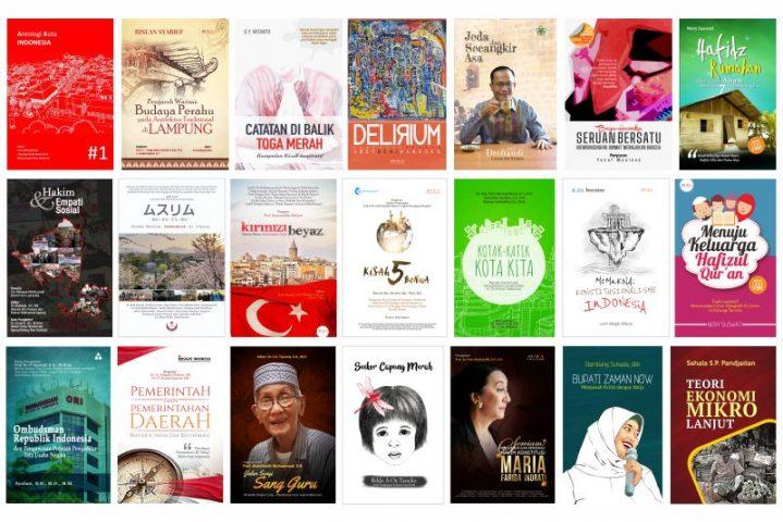 Kumpulan Buku Terbitan Aura Publisher
